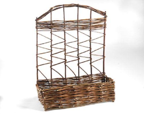 """willow planter-""""柳,芦苇,芦竹,竹,芒,树皮,树梢""""园艺用品。"""